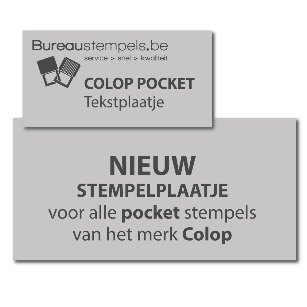 Colop Pocket stempels