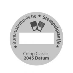 Stempelplaatje Colop Classic 2045/6 D