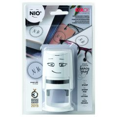 NIO monogram stempel book