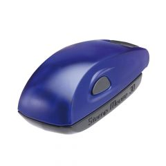 Stamp Mouse 30 Blauw
