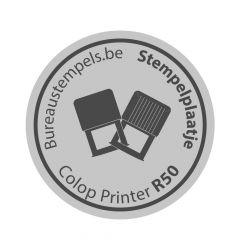 Stempelplaatje Colop Printer R50
