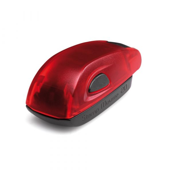 Stamp Mouse 20 Ruby